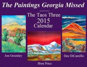 Taos Three 2015 Calendar