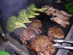 Private Birthday Steak Lobster and Veg